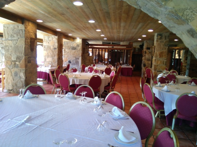 The Restaurant is in the old Masia, specifically where the stables were.